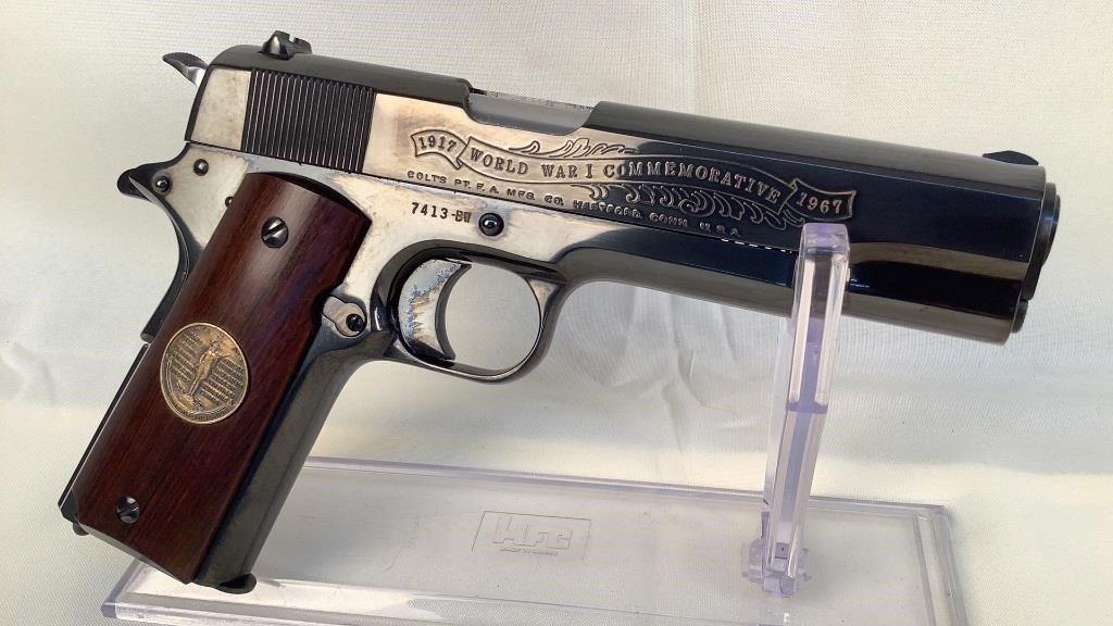 Colt WW I Commemorative 1911 Belleau Wood