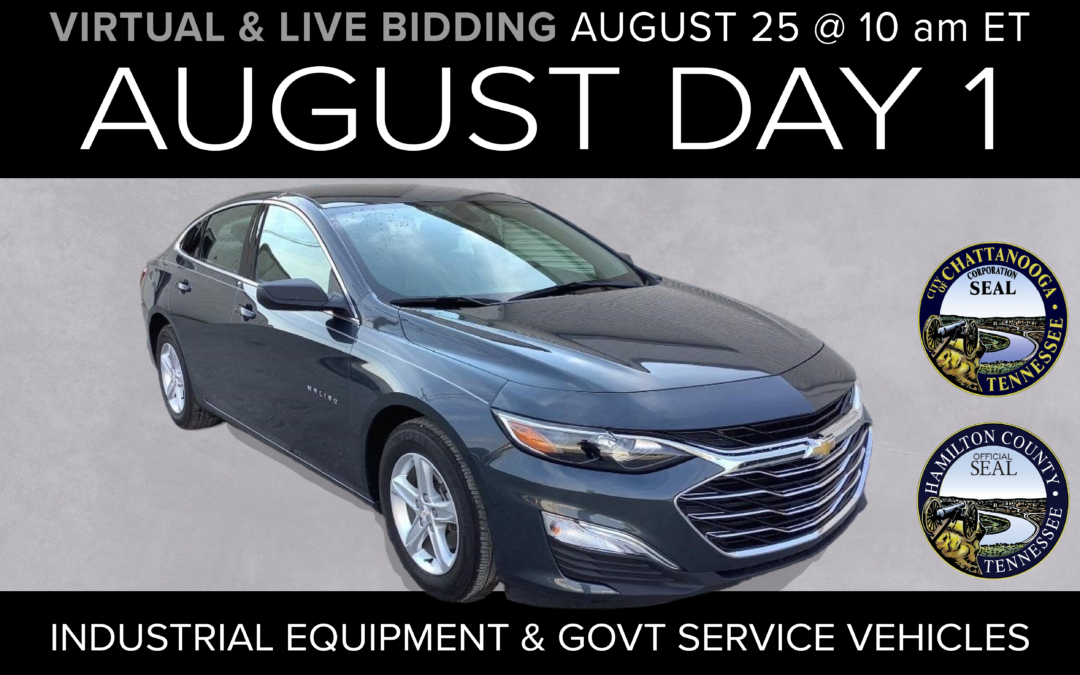 August Monthly Day 1 Auction