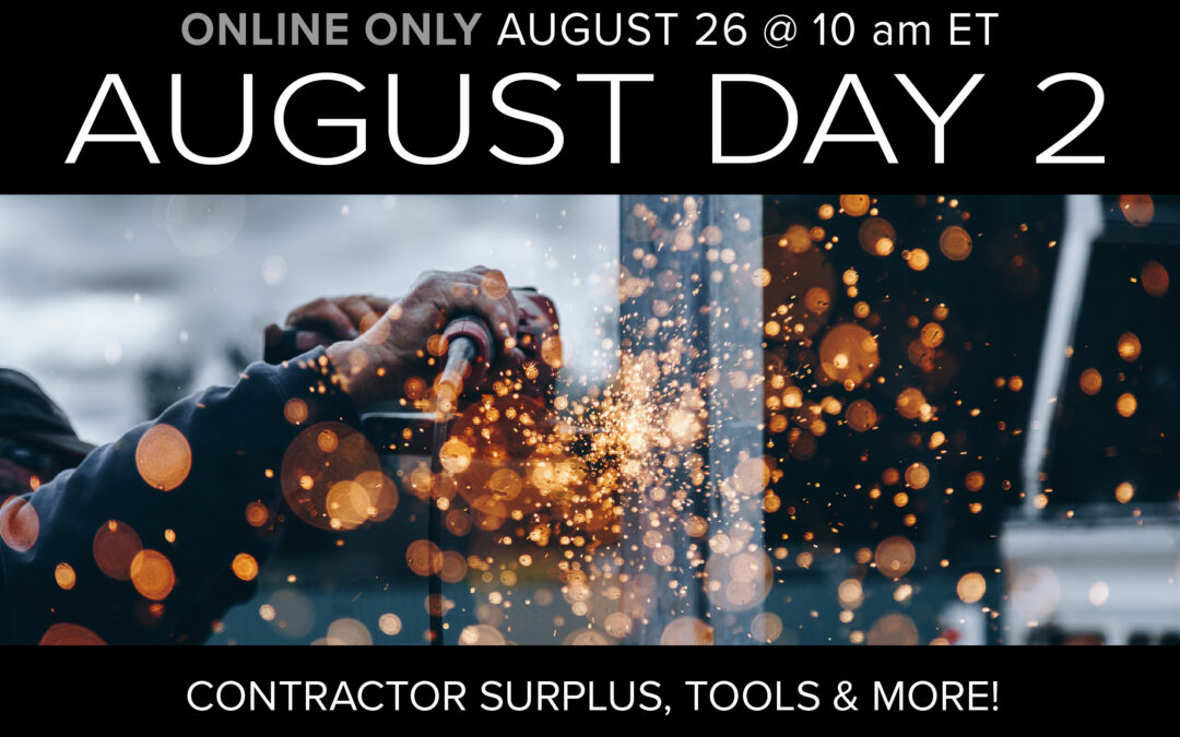 August Monthly Day 2 Auction