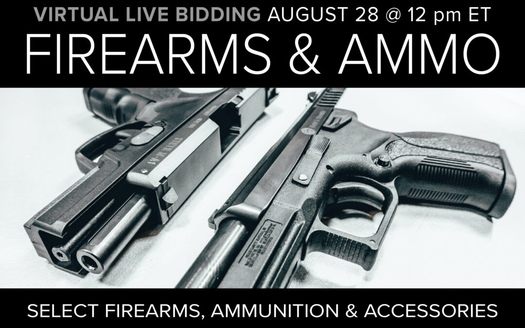 Firearms, Ammo & Accessories