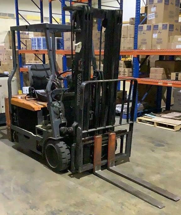Toyota Electric Forklift 5FBE18