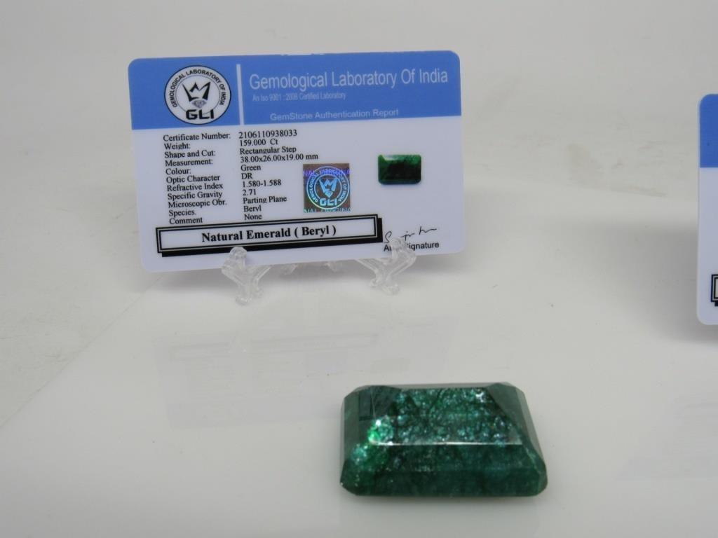 159 ct Natural Emerald Gemstone