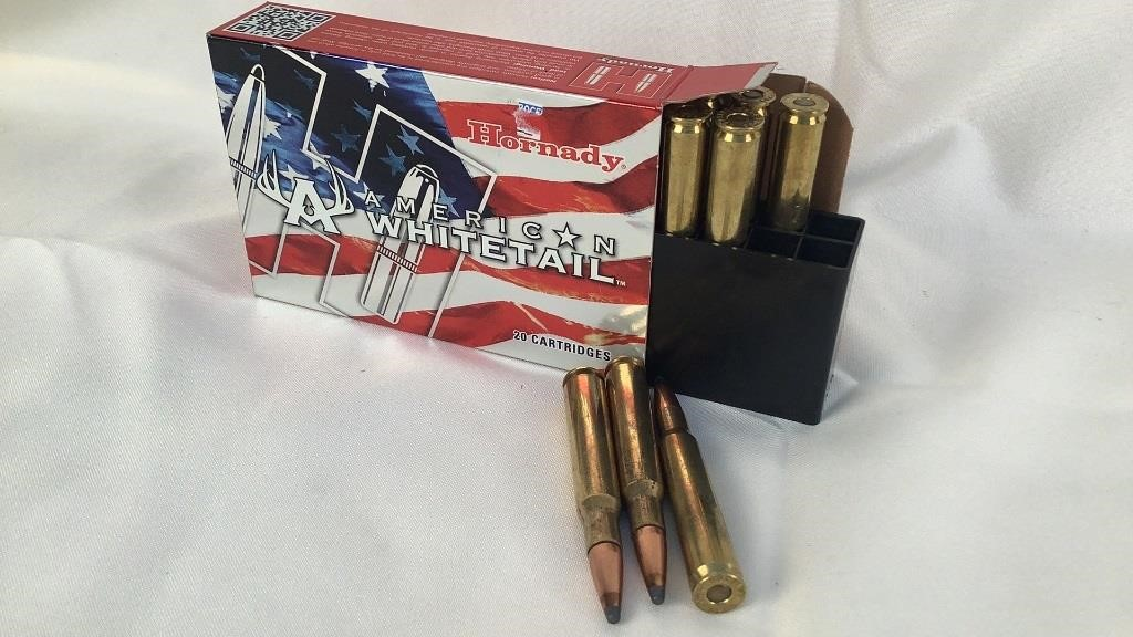 Hornady American Whitetail 30-06 SPRG Ammo