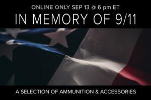 9/11 MEMORIAL AMMO AUCTION