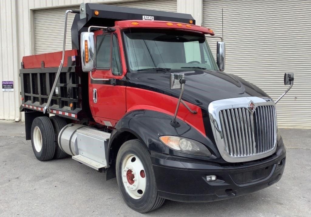2014 International ProStar+ 113 Dump Truck 4X2