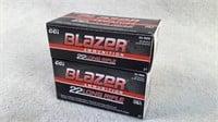 Blazer 22 Long Rifle ammo