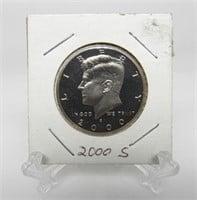 2000 - S Kennedy Half Dollar