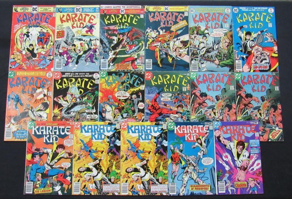 1976 - 1978 DC Karate Kid Comic Books