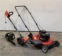 Chain Saw, Lawn Mower & Edger
