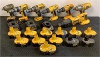 Assorted DeWalt Power Tools