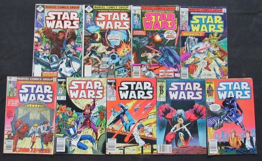 1977-1985 Marvel Star Wars Comic Books