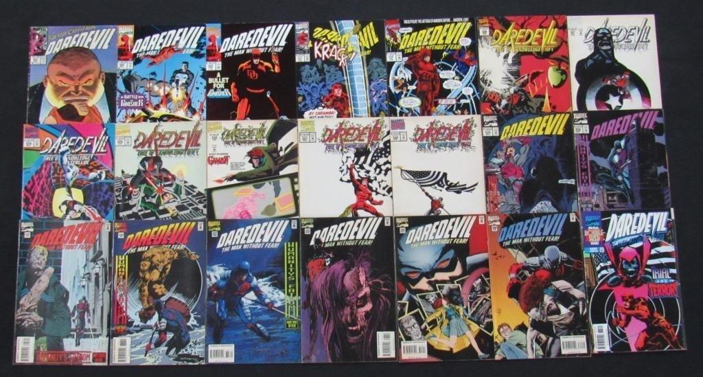 1988 - 1998 Marvel Daredevil Comic Books