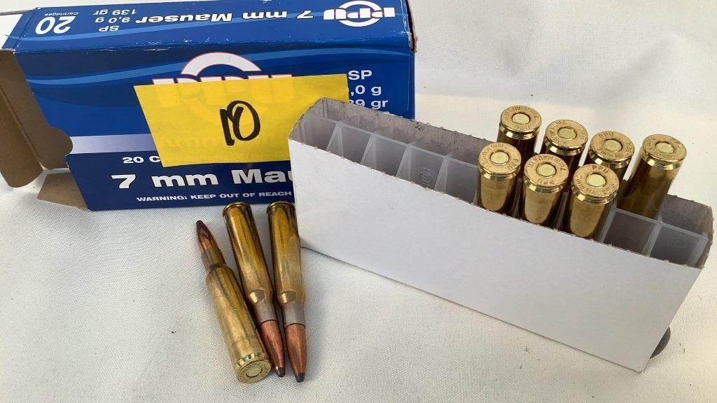 PPU 7mm Mauser Ammunition