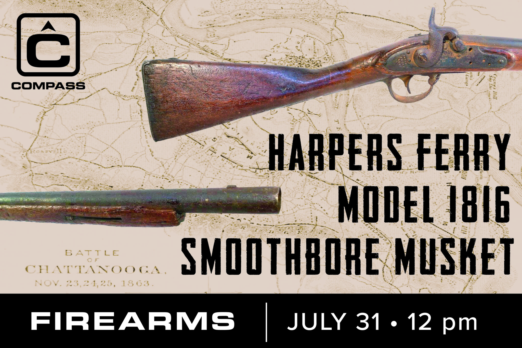 Harpers Ferry Model 1816 at auction