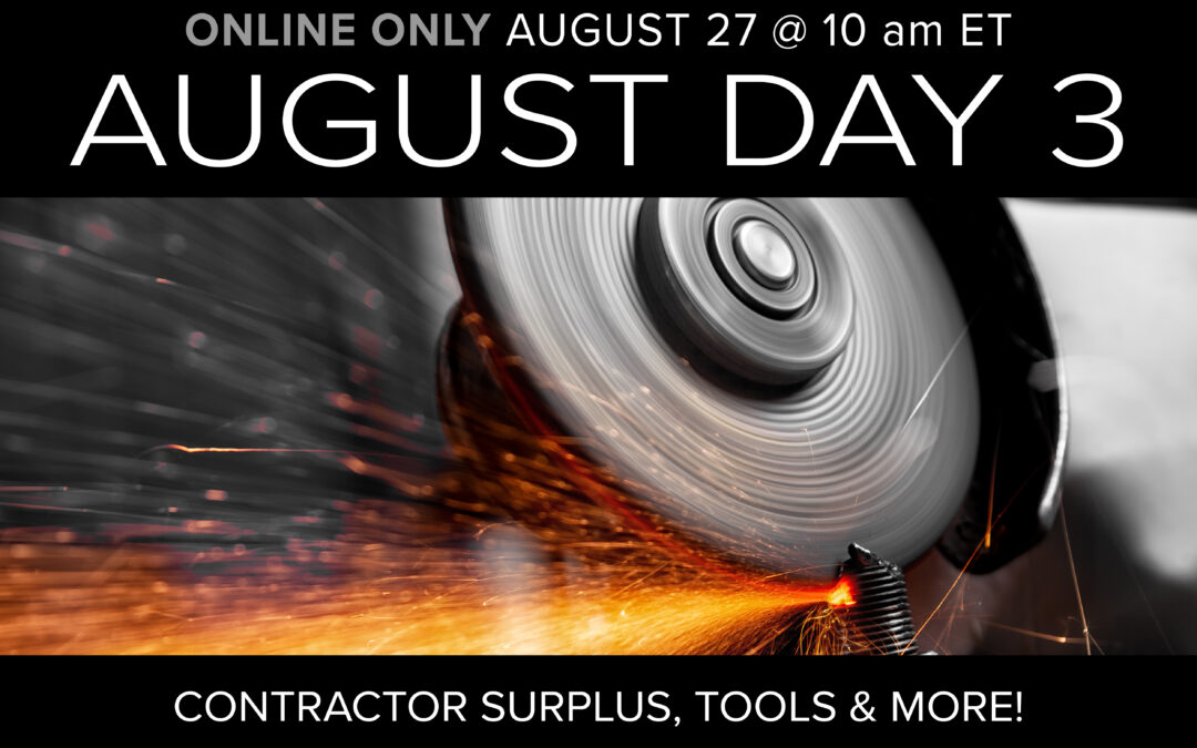 August Monthly Day 3 Auction