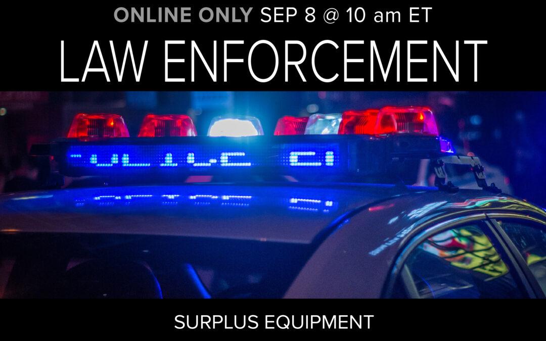 Law Enforcement Auction
