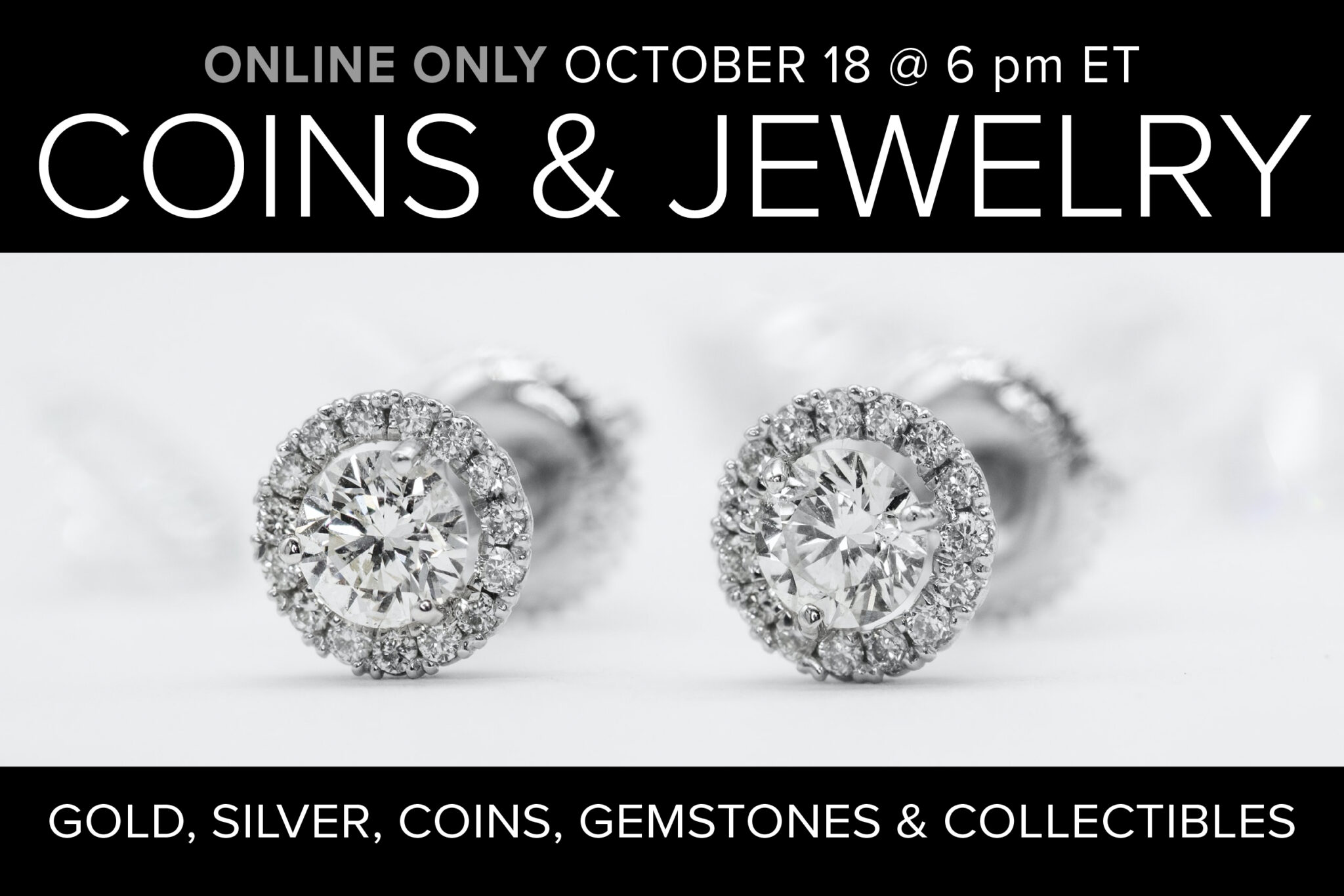 October Coin & Jewelry Auction