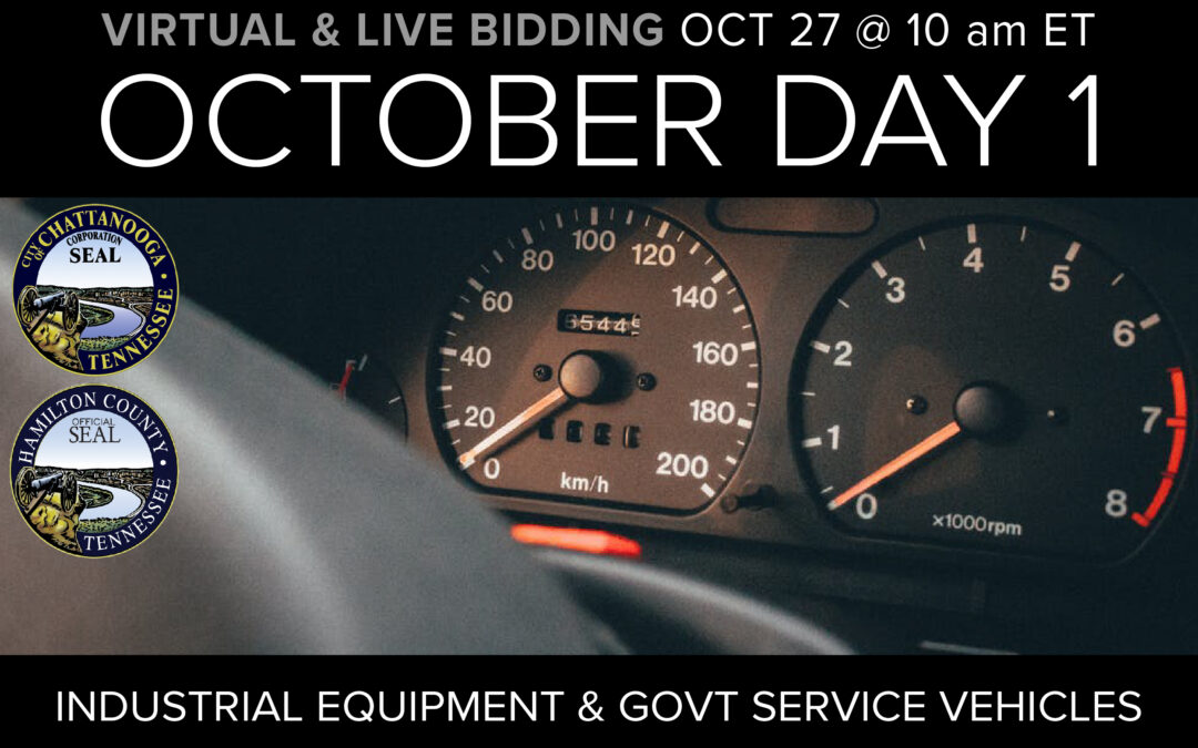 October Monthly Day 1 Auction