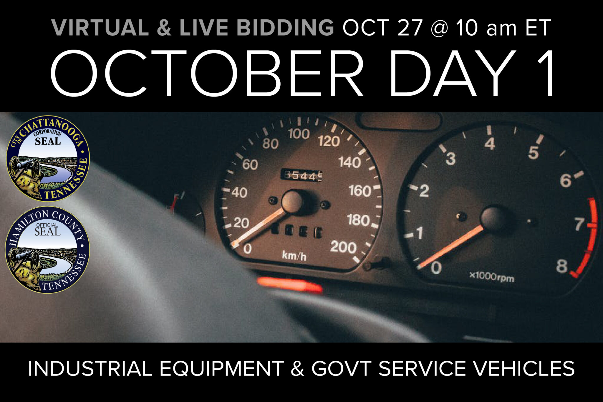 October Day 1 Monthly Auction