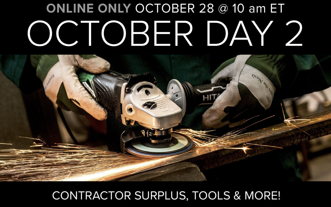 October Monthly Day 2 Auction