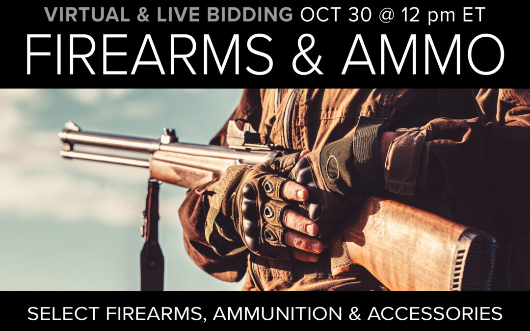 Firearms, Ammo, & Accessories