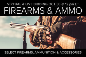 Firearms, ammo & Accessories Auction