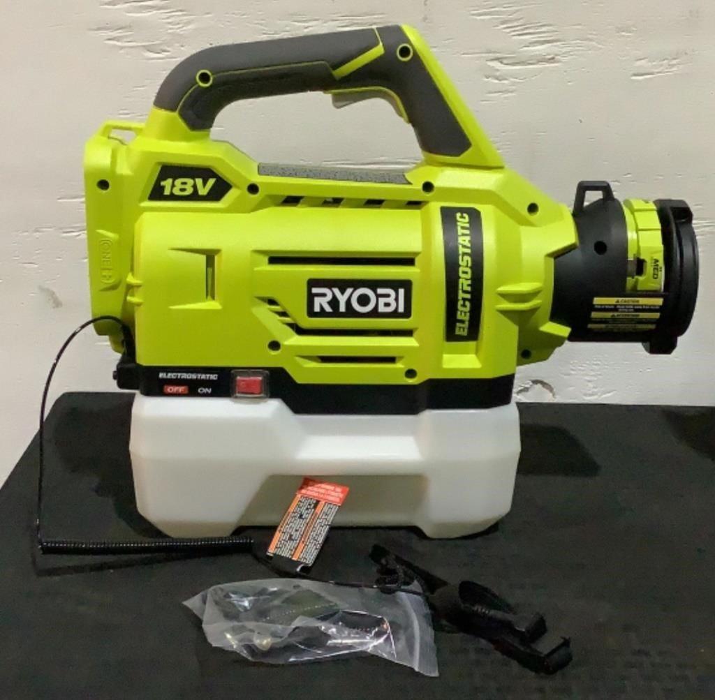 Ryobi 1/2 Gallon Electrostatic Sprayer P2809
