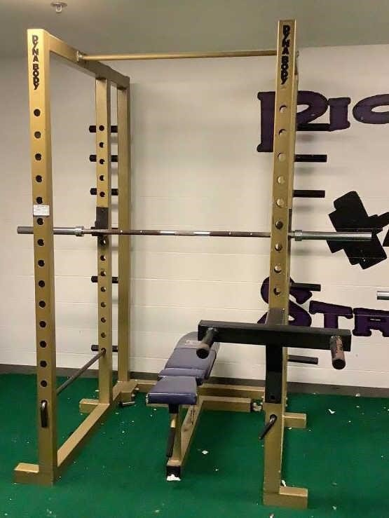 Dynabody Bench And Squat Rack