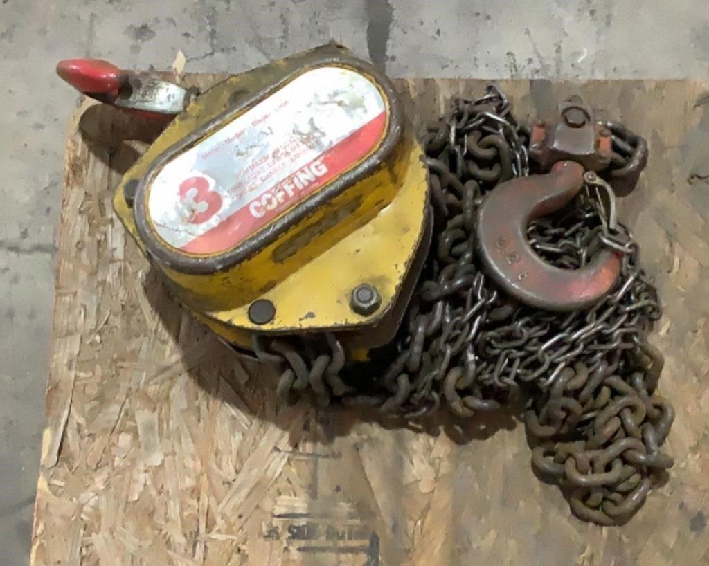 Coffing 3 Ton Chain Hoist