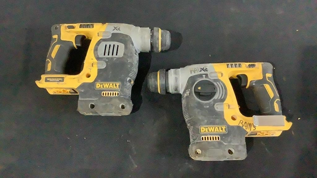 """DeWalt Cordless 1"""" Rotary Hammer Drills DCH273"""