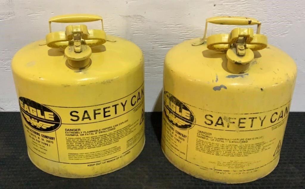 Eagle 5 Gallon Safety Tanks