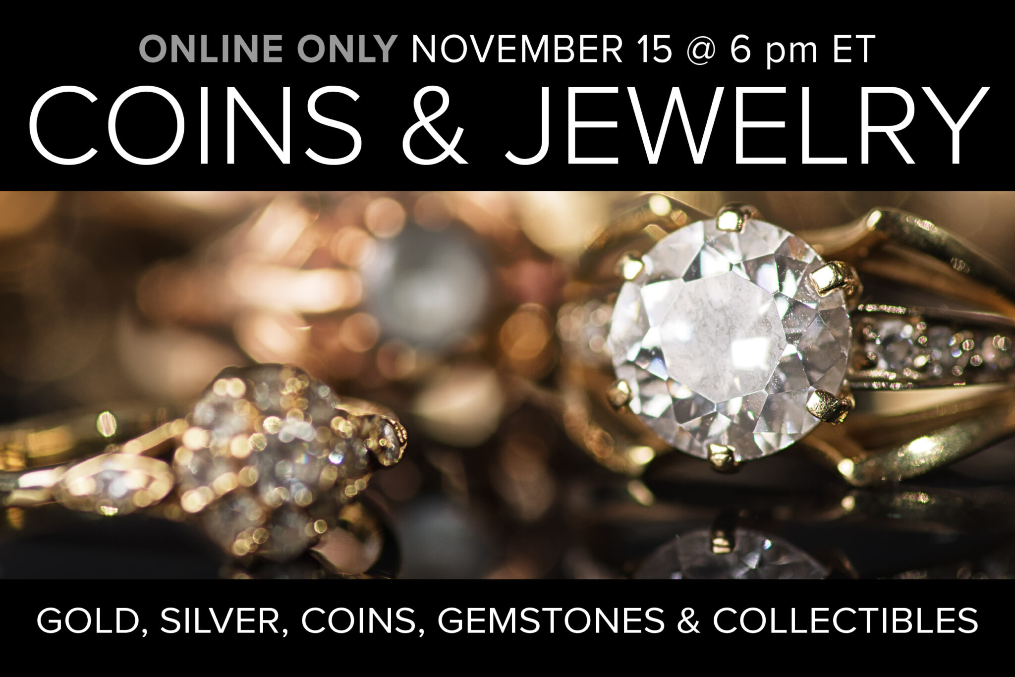 November coin and jewelry