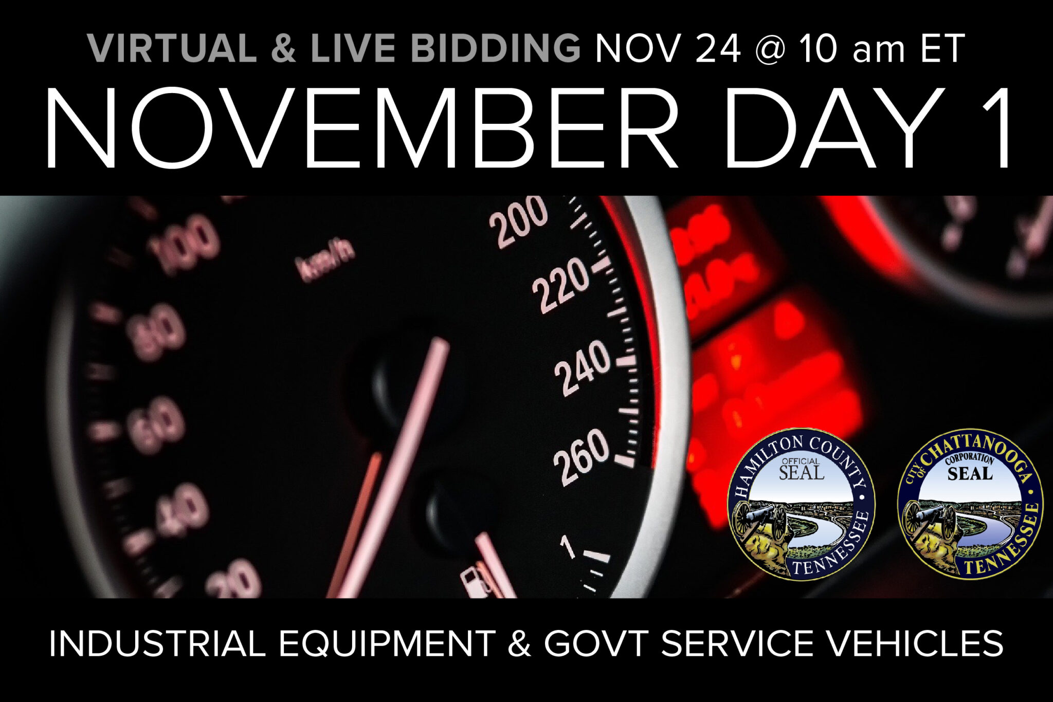 November Day 1 Monthly Auction