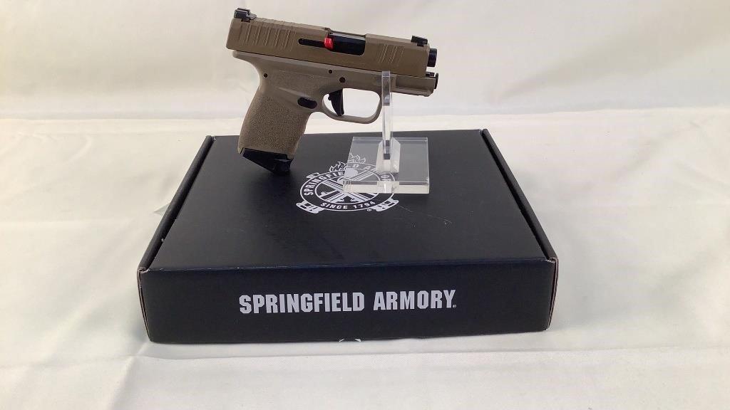 Springfield Armory Hellcat FDE Pistol 9mm Luger