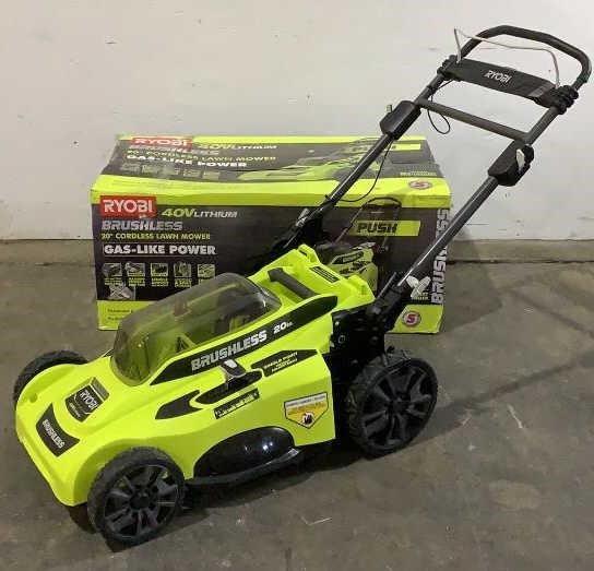 "Ryobi 20"" Cordless Lawn Mower RY401011VNM"