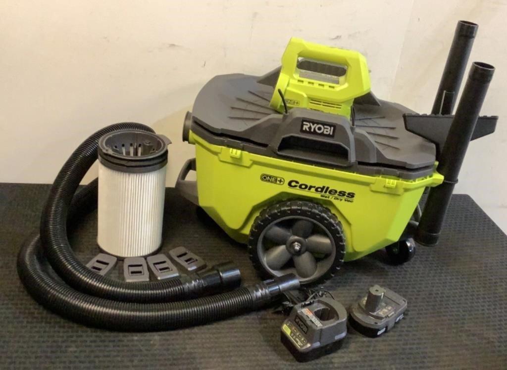 Ryobi 18V 6 Gallon Cordless Wet/Dry Vacuum P770ID