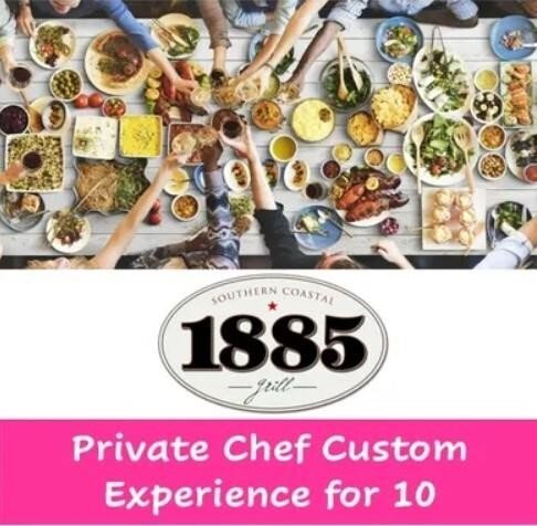 1885: Private Chef Custom Experience for 10