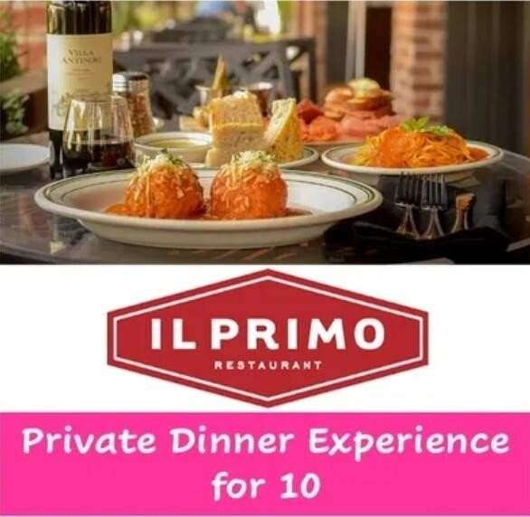 Il Primo Restaurant Private Dinner Experience for 10