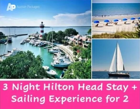 3 Night Hilton Head Stay + Sailing Experience for 2